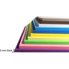 A4 Size 5mm Thick 200 gsm Coloured Paper